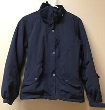 Ice Blue Winter Wear Black Coat Small