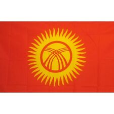 Kyrgyzstan Country Flag Banner Sign 3' x 5' Foot Polyester Grommets
