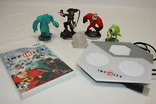 Disney Infinity Wii Starter Pack Game 4 Figures Portal Base Crystal Playset