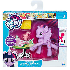 My Little Pony l'amicizia è magica Twilight Sparkle lettura CAFE poseable Pony