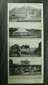 AM) Blatt 1907 Militär Kampf Indien Afghanistan General Willcocks Peschawar Fort