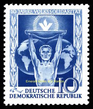 EBS East Germany DDR 1955 People's Solidarity Volkssolidarität Michel 484 MNH**