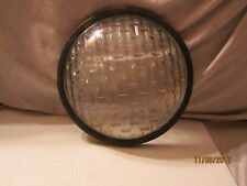 "Vintage 7 1/2"" dia Concave Clear Glass Lens No LG 4198"
