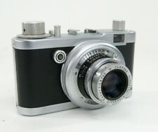 Diax W. Voss 35Mm Vintage Camera In Case Vintage Germany * Nice!