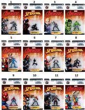 Marvel Spiderman & Avengers Nano Metalfigs  Auswahl