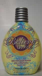 NEW Designer Skin Believe in Me Ultra Dark Triple Bronzer with Cooling Essence