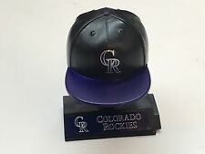MLB Mad Lids NEW Colorado ROCKIES cap w/stand collectible figure