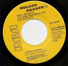 """NEIL SEDAKA - Little Devil  7"""" 45"""