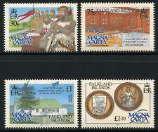 Falkland 2015 Magna Charta Geschichte Ritter König Courtroom ** MNH