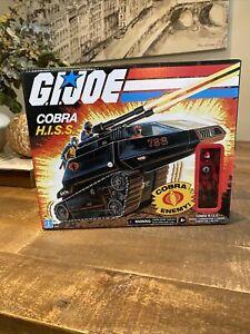 G.I. Joe Retro Cobra H.I.S.S. Tank w/ Enemy Action Figure Hasbro 2020 Exclusive