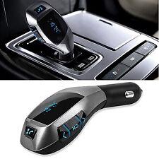 Wireless Bluetooth LCD MP3 Player Car Kit SD MMC USB FM Transmitter Modulator DE