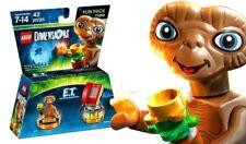 LEGO DIMENSIONS E.T ~ Collectible Set w/ Alien Minifigure & Phone # 71258 * NEW*