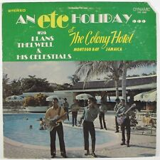 LLANS THELWELL & HIS CELESTIALS An Etc Holiday...DYNAMIC LP islands funk