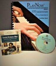 Adult Piano Lesson Books & Cds New!