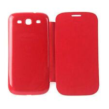 Markenlose Oberschalen und Designfolien in Rot für Handys