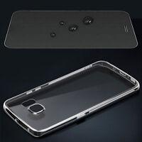 Silikon Hülle für Sony Xperia + Folie Schutzhülle Handytasche Handyhülle Case