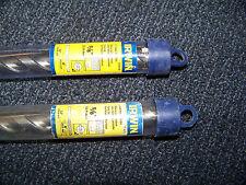 """Irwin Tools Straight Shank Masonry Bit 5/8"""" X 12"""" L 2 Cutter 2 ea. # 326020 New"""