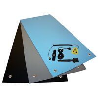 ESD UK Anti Static Grounding Bench Mat Kit, Ideal Gluing or Soldering Station.