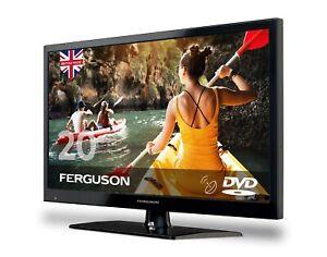 """Ferguson F2020FS 20"""" 12v Volt LED FULL HD TV/DVD Freeview/Satellite Caravan Boat"""