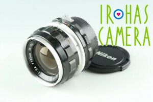 Nikon Nikkor-S Auto 35mm F/2.8 Non-Ai Lens #37636 A4
