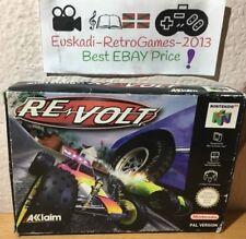 """""""Re-Volt"""" Nintendo 64 N64  PAL (COMPLETO)"""