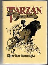 Tarzan and the Golden Lion by Edgar Rice Burroughs 1st St.John Art Fax DJ