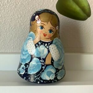 Musical Russian Toy Nevalyashka Roly Poly