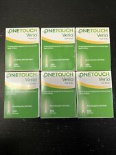 One touch Verio Retail test strips. 600 Strips