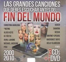 CD - Las Grandes Canciones Fin Del Mundo NEW 3 CD's & 1 DVD FAST SHIPPING !