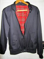 Lovely Ladies/Mens *BNWOT* Black Jacket With Red Tartan Lining Size Small