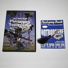 HOT ROD SURF ® MACK HOTRODSURF Pinstriping Art BRUSH and DVD Movie combo