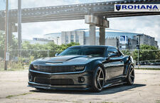 20x10 +25 20x11 +28 Rohana RC22 5x120 Black Wheels FIt chevrolet camaro ss 2010