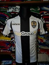 NOTTS COUNTY 2014/2015 HOME SHIRT SIZE S / XS JERSEY CAMISETA MAGLIA (r51)