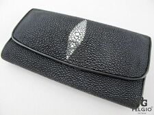 Pelgio Leather Trifold Wallets for Women