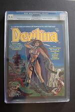 DEVILINA #2 Atlas Seaboard 1975 GGA Thorne Sparling Suso LOW PRINT CGC NM 9.4