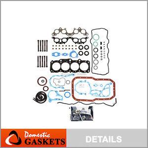Fits 97-01 Toyota Camry Celica Solara 2.2L DOHC Full Gasket Set Bolts 5SFE