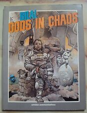 GODS IN CHAOS ENKI BILAL GRAPHIC NOVEL AUTHOR OF IMMORTAL CATALAN 1987