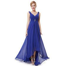 Ever-Pretty Bridesmaids Wedding Party Long Maxi Dress 09983 Size 4 Sapphire Blue 12