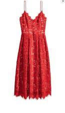 H&M Laser Cut Lace Dress - UK 8 - RRP £70