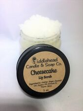 Cheesecake Lip Scrub| Edible Sugar Lip Scrub| Lip Polish