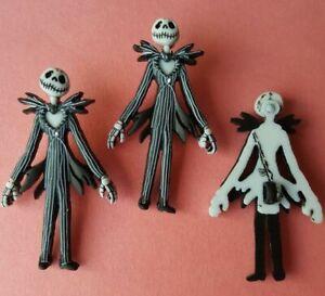 JACK SKELLINGTON Nightmare Before Christmas Halloween Disney Dress It Up Buttons
