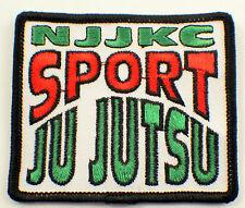 Martial Arts Embroidered Uniform Patch Njjkc Sport Ju Jutsu #Msbk