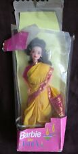 BARBIE IN INDIA - FOR THE INDIAN MARKET LEO MATTEL - BRUNETTE BARBIE WITH SARI
