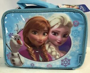 Thermos Soft School Insulated Lunch Bag Food Camping Cooler Box, Disney Frozen