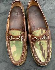 Eastland Camo horsebit loafers.  Size uk8