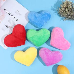 15CM Heart Shape Decorative Throw Pillow PP Cotton Soft Creative Doll Lover GiFZ