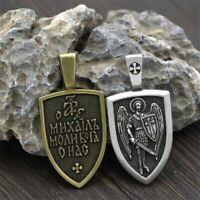 Pendant Necklace Archangel St.Michael Pendants Protection Saint Charm Necklaces