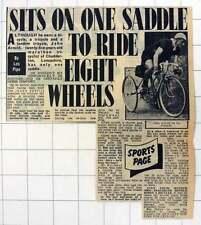 1952 John Arnold 25-year-old Marathon Tricycle Chadderton