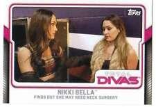 2017 Topps WWE Wrestling Total Divas #20 Nikki Bella