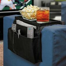 Home Sofa Armchair Couch Remote Control Holder Organizer Storage Tray Bag JJ